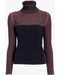 Sportmax - Turtleneck Wool Sweater - Lyst