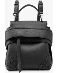 Tod's - Mini Wave Backpack - Lyst