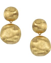 Marco Bicego - Africa Gold Large Drop Earrings - Lyst
