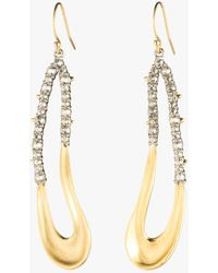 Alexis Bittar - Crystal Freeform Drop Earrings - Lyst
