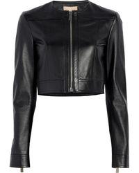Michael Kors - Cropped Jacket - Lyst