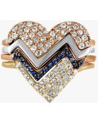 Kwiat - Heartthrob Four Part Diamond Ring - Lyst