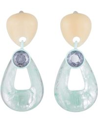 DANNIJO - Kiss Clip-on Earrings - Lyst