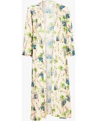 VERANDAH - Hand Beaded Boho Luxe Kimono - Lyst