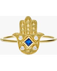 Amrapali - Heritage Hamsa Ring - Lyst