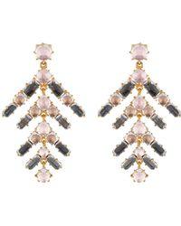 Larkspur & Hawk - Caterina Branch Chandelier Earrings - Lyst