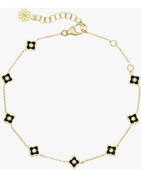 Amrapali - Mini Enamel Star Chain Bracelet - Lyst
