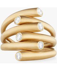 Carelle - Whirl Diamond Ring - Lyst