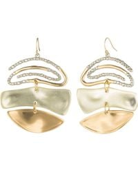 Alexis Bittar - Crystal Spiral Mobile Earrings - Lyst