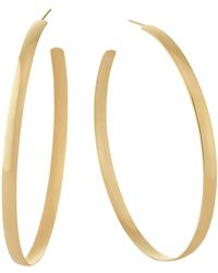 Lana Jewelry - Large Thin Curve Hoops - Lyst
