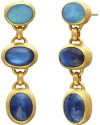 Gurhan - Limited Edition Triple Amulet Hue Earrings - Lyst