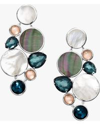 Ippolita - Clear Quartz & Shell Chandelier Earrings - Lyst