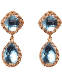 Larkspur & Hawk - Small Jane Earrings - Lyst