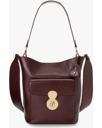 b055dc3aca Lyst - Ralph Lauren Collection Ricky Small Leather Shoulder Bag ...