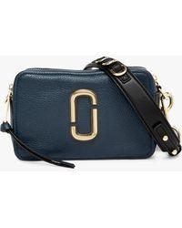 32a65eb875d5 Lyst - Marc Jacobs Leather Natasha Crossbody Bag Grey in Metallic