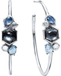 Ippolita - Rock Candy Cluster Hoop Earrings - Lyst