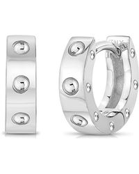 Roberto Coin - Pois Moi Huggie Hoop Earrings - Lyst