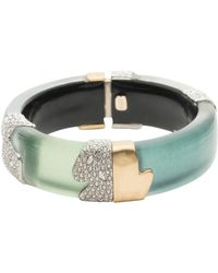 Alexis Bittar - Crystal Color Block Bracelet - Lyst