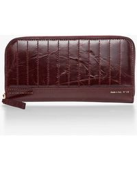 Victoria Beckham - Large Zip Around Wallet - Lyst