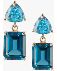 Yi Collection - Topaz Earrings - Lyst