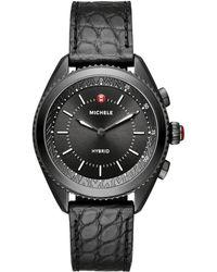 Michele Watches - Black Hybrid Smartwatch - Lyst