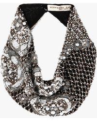 Mignonne Gavigan - Le Charlot Pearl Scarf Necklace - Lyst