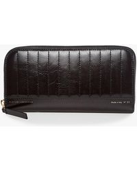Victoria Beckham - Quilted Leather Wallet - Lyst
