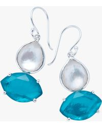 Ippolita - Wonderland Two Stone Drop Earrings - Lyst