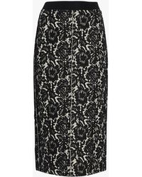 Dorothee Schumacher - Lace Embrace Pencil Skirt - Lyst