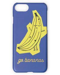 Oliver Bonas - Go Bananas Iphone 6/6s/7 Case - Lyst
