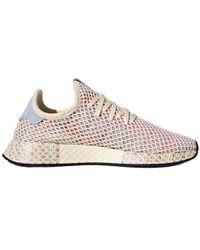 lyst adidas originali scarpe per le donne - 5923 w cq2527 in rosso