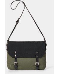 Ally Capellino - Jeremy Small Waxed Cotton Satchel - Lyst