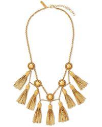 Rachel Zoe - Jaqueline Tassel Fringe Necklace - Lyst
