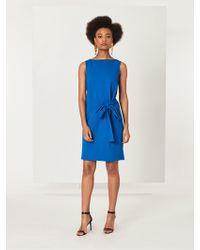 Oscar de la Renta - Stretch-wool Crepe Dress - Lyst
