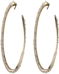 Alexis Bittar - Oversized Crystal Lace Orbiting Hoop Earring You Might Also Like - Lyst