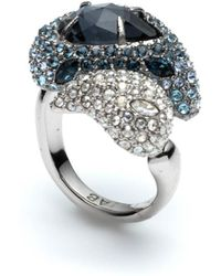Alexis Bittar - Winter Paisley Crystal Encrusted Ring - Lyst