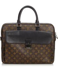Louis Vuitton - Monogram Soft Briefcase Macassar - Lyst