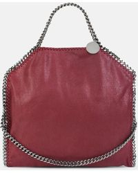 Stella McCartney - Black Falabella Shaggy Deer Fold Over Tote - Lyst