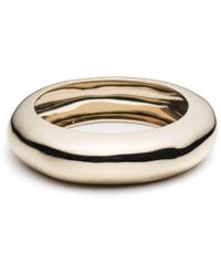Alexis Bittar - Small Liquid Metal Dome Bangle - Lyst