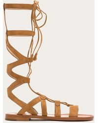 73ba7acecd9d Lyst - Madden Girl Penna Tall Gladiator Sandals in Brown