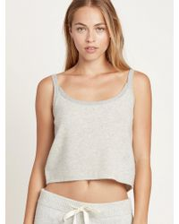 Morgan Lane - Cashmere Alice Tank Top - Lyst