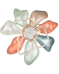 Alexis Bittar - Abstract Color Block Flower Pin - Lyst