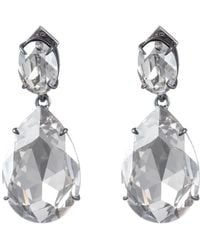 Alexis Bittar Oversized Pvd Teardrop Dangling Post Earring - Multicolor