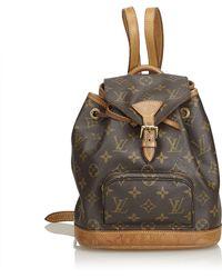 2d5dd56ebe99 Louis Vuitton - Monogram Mini Montsouris - Lyst