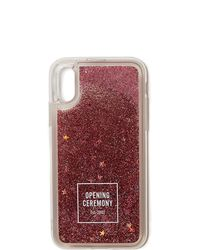 Opening Ceremony - Glitter Iphone X Case - Lyst