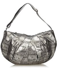 adaf55acc16c Lyst - Chanel Unlimited Shoulder Bag Black in Metallic