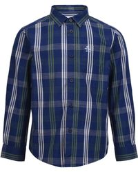 Original Penguin - Youth Textured Check Shirt - Lyst