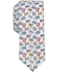 Original Penguin - Casette Print Multi Color Tie - Lyst