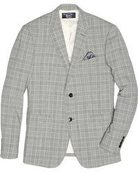 Original Penguin - Black White Plaid Suit Jacket - Lyst