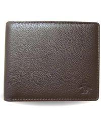 Original Penguin - Dune Leather Wallet - Lyst